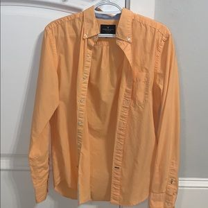 Men's American Eagle long sleeve button up!